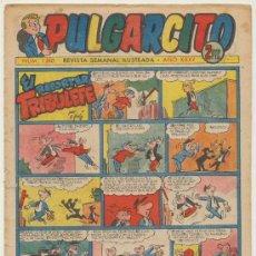 Tebeos: PULGARCITO Nº 1260. BRUGUERA 1955. CON INSPECTOR DAN.. Lote 19620367