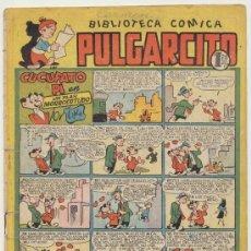Tebeos: PULGARCITO Nº 116. BRUGUERA 1949. CON INSPECTOR DAN.. Lote 19620757