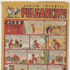 Tebeos: PULGARCITO Nº 144. BRUGUERA 1949. CON INSPECTOR DAN.. Lote 19620813