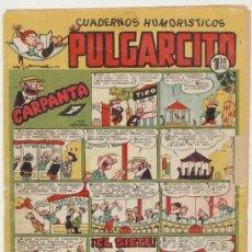 Tebeos: PULGARCITO Nº 196. BRUGUERA 1949. CON INSPECTOR DAN.. Lote 19637574