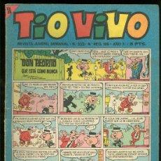 Tebeos: TIO VIVO. REVISTA JUVENIL. Nº 199.. Lote 19689934