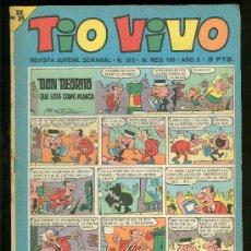 Tebeos: TIO VIVO. REVISTA JUVENIL. Nº 313.. Lote 19689953