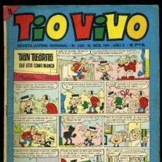 Tebeos: TIO VIVO Nº 336 REVISTA JUVENIL. Lote 19689954