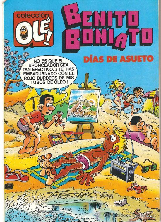 COMIC COLECCIÓN OLÉ! BENITO BONIATO. Nº 5 BRUGUERA FRESNO`S 1984. NUEVO. (Tebeos y Comics - Bruguera - Ole)