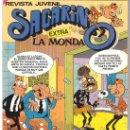 Tebeos: COMIC SACARINO EXTRA LA MONDA Nº 78 DE BRUGUERA NUEVO 1985 CON ADHESIVOS. Lote 30352156