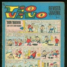 Tebeos: TIO VIVO. REVISTA JUVENIL. Nº 345.. Lote 19706401
