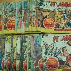 Tebeos: EL JABATO (LOTE DE 355 EJ.) (VER DESCRIPCION). Lote 19733552
