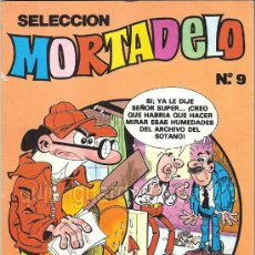 Tebeos: COMIC MORTADELO SELECCIÓN Nº 9 DE BRUGUERA CON TRES REVISTAS-219-221-244. NUEVO. 1985. Lote 27208998