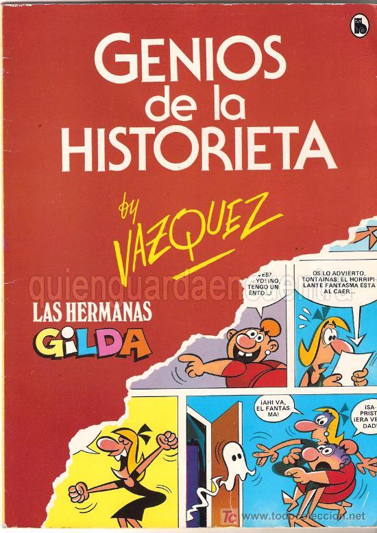 COMIC GENIOS DE LA HISTORIETA DE BRUGUERA. LAS HERMANAS GILDA, NUEVO 1985. BY VAZQUEZ (Tebeos y Comics - Bruguera - Otros)
