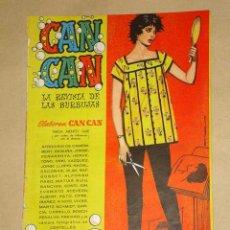 Tebeos: CAN CAN Nº 66. PEÑARROYA, IBÁÑEZ, SEGURA, CONTI, RAF, ORTEGA, NADAL. RUTH ROMAN. BRUGUERA. . Lote 20046257