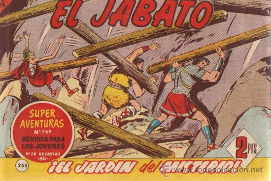 EL JABATO Nº 255 DEL 02/09/1963 (ORIGINAL) (Tebeos y Comics - Bruguera - Jabato)