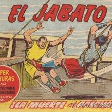 Tebeos: EL JABATO Nº 262 DEL 21/10/1963 (ORIGINAL). Lote 21872137