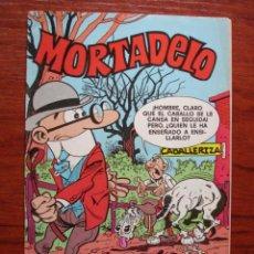 Tebeos: MORTADELO AÑO 1 Nº 7 EDICION MEXICANA DE BRUGUERA 1979. MUY RARA Y EN !. Lote 27578947