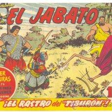Tebeos: EL JABATO .. EL RASTRO DEL TIBURÓN .. Nº 148 .. AÑO 1961. Lote 20144816