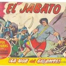 Tebeos: EL JABATO .. LA VOZ DEL GIGANTE .. Nº 142 .. AÑO 1961. Lote 20183737