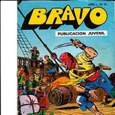 Tebeos: COMIC BRUGUERA -EL CACHORRO Nº 6 - COLECCIÓN BRAVO Nº 11 (AÑO 1). Lote 26416740