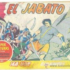 Tebeos: EL JABATO .. LA VOZ DEL GIGANTE .. Nº 142 .. AÑO 1961. Lote 20221718