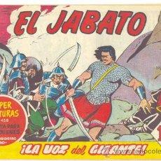 Tebeos: EL JABATO .. LA VOZ DEL GIGANTE .. Nº 142 .. AÑO 1961. Lote 20221748