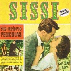 Tebeos: SISSÍ, REVISTA FEMENINA, AÑO 4, NÚMERO 159, LA FULGURANTE VIDA DE JEAN SIMMONS EN FOTOS. Lote 20233718