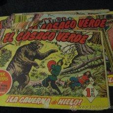 Tebeos: LOTE DE 9 CUADERNILLOS DE EL COSACO VERDE, EDITORIAL BRUGUERA.. Lote 23350143