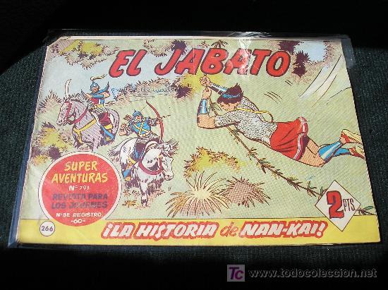 EL JABATO Nº 266, ORIGINAL (Tebeos y Comics - Bruguera - Jabato)