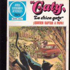 Tebeos: JOYAS LITERARIAS JUVENILES SERIE AZUL Nº 89 , GATY , LA CHICA GATO. Lote 20326345