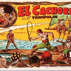 Tebeos: EL CACHORRO. IBERCOMIC. EN EL TRAMPOLIN. TOMO 3.. Lote 20418980
