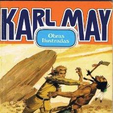Tebeos: KARL MAY OBRAS ILUSTRADAS NUMERO 1. EDITORIAL BRUGUERA 1982. Lote 26971298