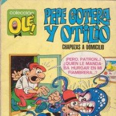 Tebeos: PEPE GOTERA Y OTILIO. CHAPUZAS A DOMICILIO. COLECCIÓN OLÉ Nº 1. EDITORIAL BRUGUERA.. Lote 26898527