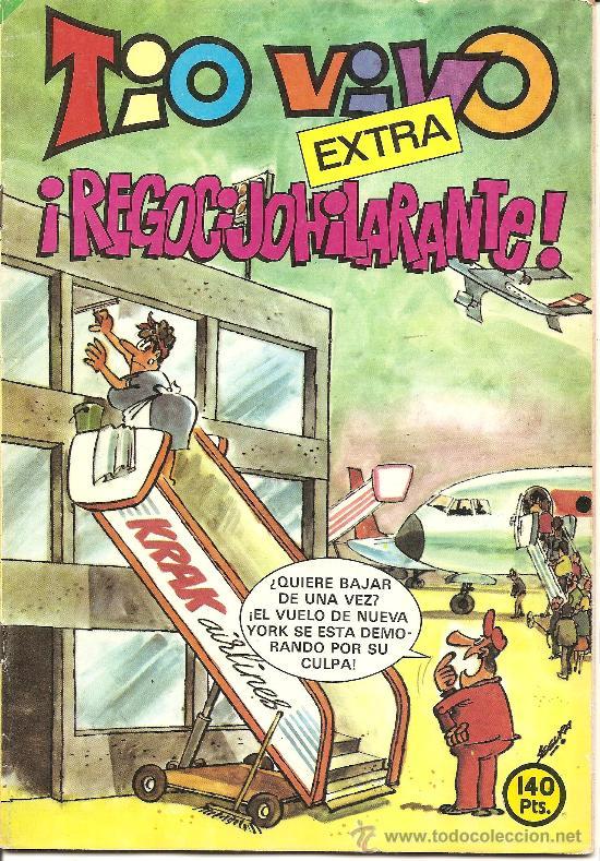 TIO VIVO EXTRA Nº 68 REGOCIJOHILARANTE (Tebeos y Comics - Bruguera - Tio Vivo)