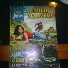 Tebeos: M69 SUPER JOYAS LITERARIAS DE EMILIO SALGARI NUMERO 8. Lote 20545336