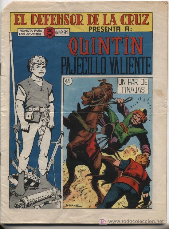 QUINTÍN PAJECILLO VALIENTE Nº 14. (Tebeos y Comics - Bruguera - Din Dan)