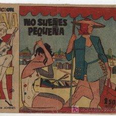 Tebeos: COLECCIÓN DIANA DE FLORES DE AZAHAR. NO SUEÑES PEQUEÑA. CREO 1960. Lote 20577054