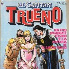 Tebeos: EL CAPITAN TRUENO Nº 6. LUIS BERMEJO. EDITORIAL BRUGUERA.. Lote 27593114