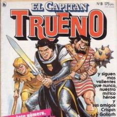 Tebeos: EL CAPITAN TRUENO Nº 8. LUIS BERMEJO. EDITORIAL BRUGUERA.. Lote 27593116