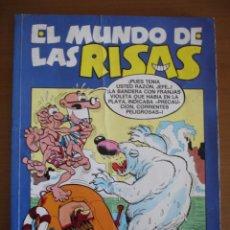 Tebeos: EL MUNDO DE LAS RISAS Nº 8 ZIPI ZAPE , MORTADELO , TOMAS EL GAFE .. Lote 27477403