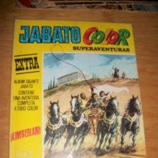 Tebeos: JABATO COLOR EXTRA Nº 4 ED BRUGUERA 1978 3ª ÉPOCA SUPERAVENTURAS . Lote 20832625