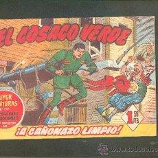 Tebeos: EL COSACO VERDE Nº 4,EDITORIAL BRUGUERA. Lote 27101877