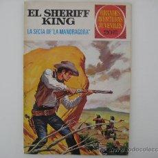 Tebeos: SHERIFF KING Nº 30 GRANDES AVENTURAS JUVENILES. . Lote 27303507