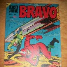 Tebeos: BRAVO Nº 1 ORIGINAL EDITORIAL BRUGUERA. Lote 27572176