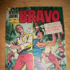 Tebeos: BRAVO Nº 2 ORIGINAL EDITORIAL BRUGUERA. Lote 199203043