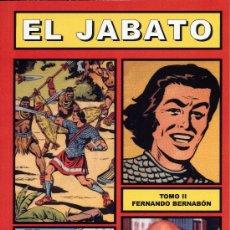 Tebeos: EL JABATO TOMO II (CUADERNOS DE LA HISTORIETA ESPAÑOLA Nº4) AUTOR: F. BERNABÓN. Lote 57197156