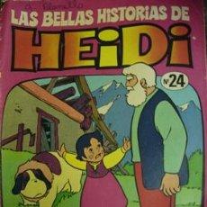 Tebeos: LAS BELLAS HISTORIAS DE HEIDI - UNA NUEVA CABAÑA Nº 24. Lote 20936465