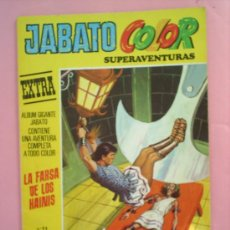 Tebeos: JABATO COLOR N.11 EXTRA , SUPERAVENTURAS EDITORIAL BRUGUERA 1978. Lote 20966671