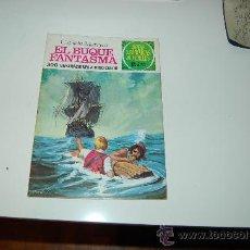 Tebeos: JOYAS LITERARIAS JUVENILES NÚMERO 26: EL BUQUE FANTASMA ( LABERINTO ROJO ). Lote 27637704