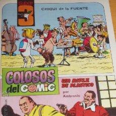 Tebeos: 4 CAMARADAS + SUPER 3.COLOSOS DEL COMIC + DOS RAZAS. AMBROS, CREADOR DEL CAPITAN TRUENO.3 AVENTURAS.. Lote 26410883