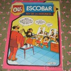 Tebeos: COLECCION OLE - ESCOBAR REY DE LA HISTORIETA. Lote 25876603