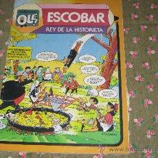 Tebeos: COLECCION OLE - ESCOBAR REY DE LA HISTORIETA. Lote 25876604