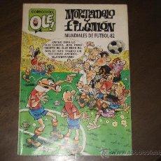 Tebeos: COLECCION OLE - MORTADELO Y FILEMON - MUNDIALES DE FUTBOL-82. Lote 25940843