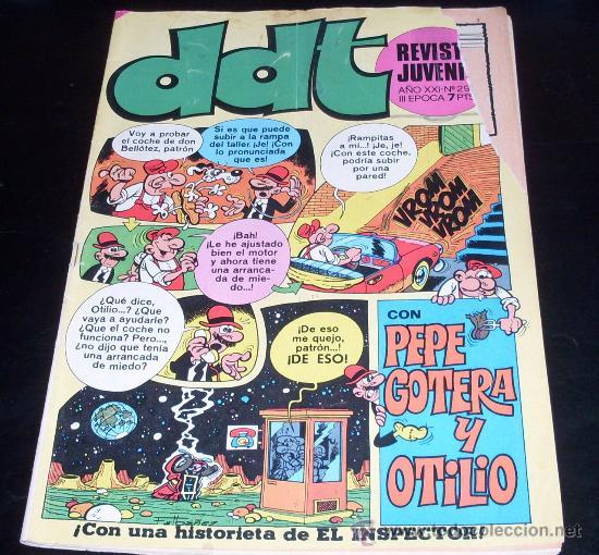 DDT - Nº 295 - BRUGUERA - 1973 (Tebeos y Comics - Bruguera - DDT)